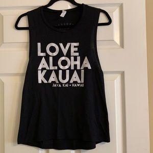 Love Aloha Kauai Tank Top